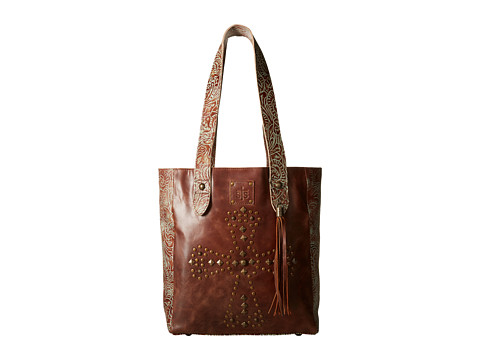 STS Ranchwear The Trinity Tote - Brown/Turquoise