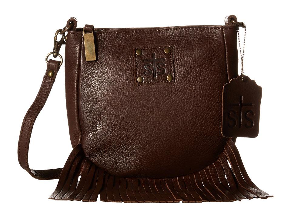 STS Ranchwear - The Medicine Bag Crossbody (Chocolate) Cr...