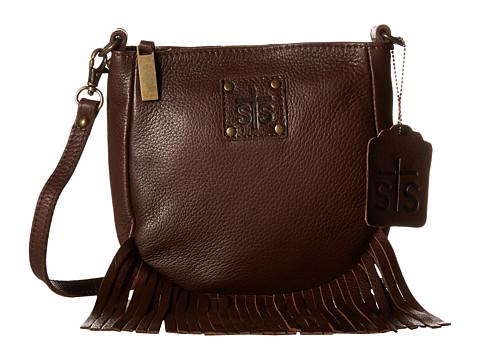 STS Ranchwear The Medicine Bag Crossbody - Chocolate