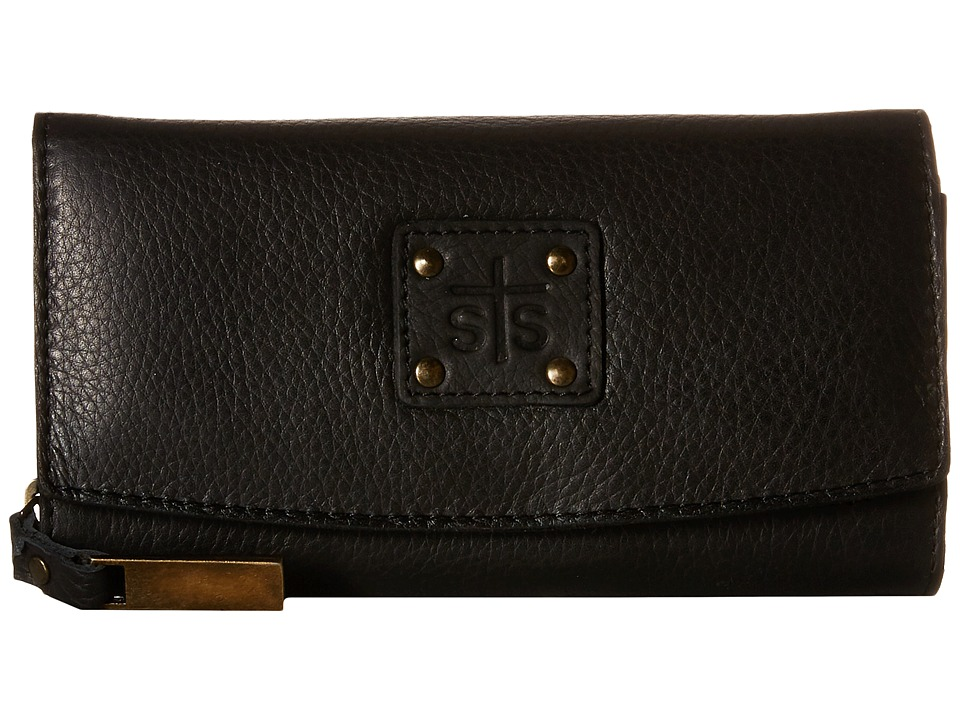 STS Ranchwear The Cassie Joh Trifold Wallet Black Wallet Handbags