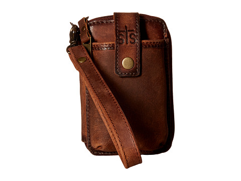 STS Ranchwear The Baroness Small Wristlet - Brown