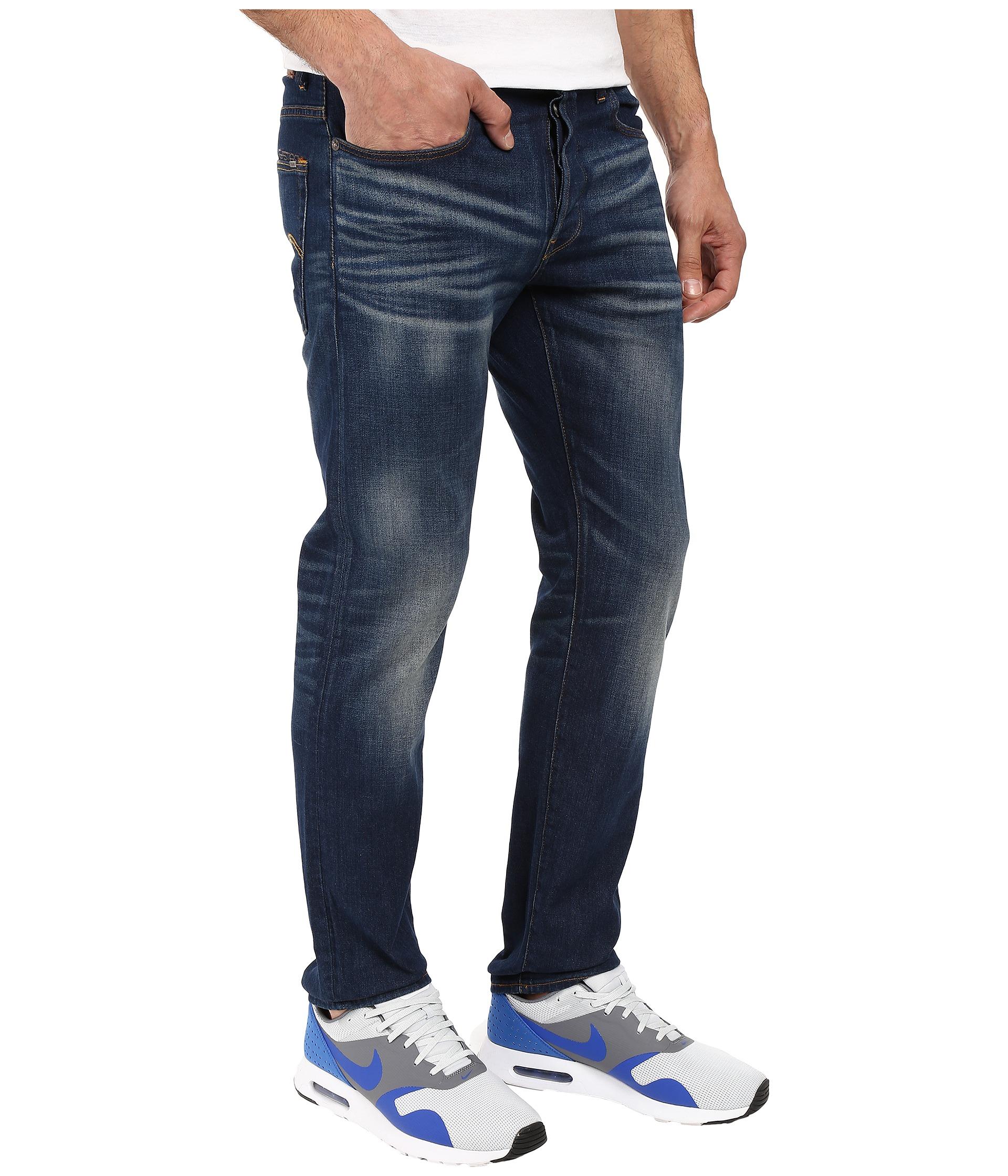 g star 3301 straight fit jeans in gosk stretch denim. Black Bedroom Furniture Sets. Home Design Ideas