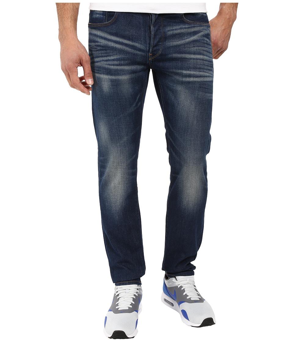 G-Star - 3301 Straight Fit Jeans in Gosk Stretch Denim Medium Aged