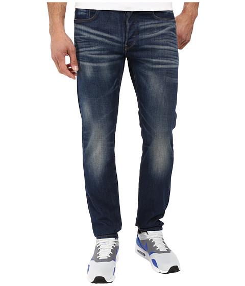 G-Star 3301 Straight Fit Jeans in Gosk Stretch Denim Medium Aged