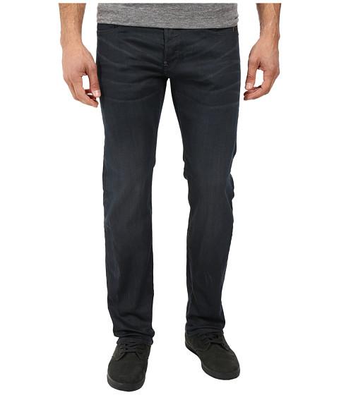 G-Star Attacc Straight Fit Jeans in Doter Grey Stretch Denim Dark Aged - Dark Aged
