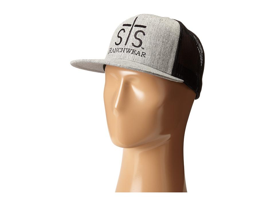 STS Ranchwear STS Ranchwear Cap Heather Grey/Black Caps