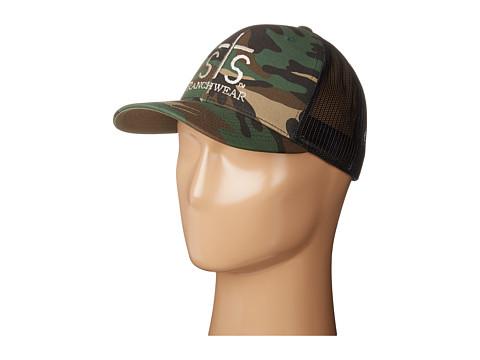STS Ranchwear STS Ranchwear Cap - Camo/Black Mesh