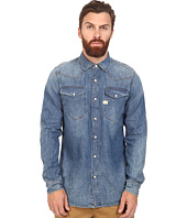 G-Star - Tacoma Long Sleeve Shirt in Lightweight Craser Denim