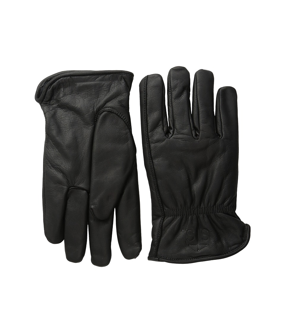 STS Ranchwear Waterproof Thinsulate Work Gloves (Black) Extreme Cold Weather Gloves