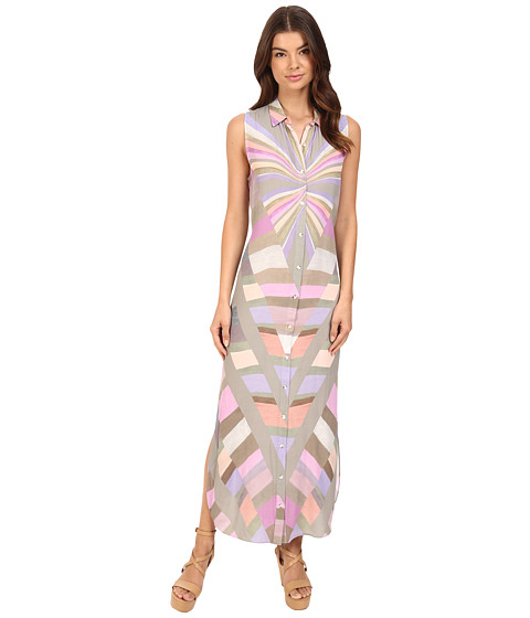 Mara Hoffman Prism Button Down Dress