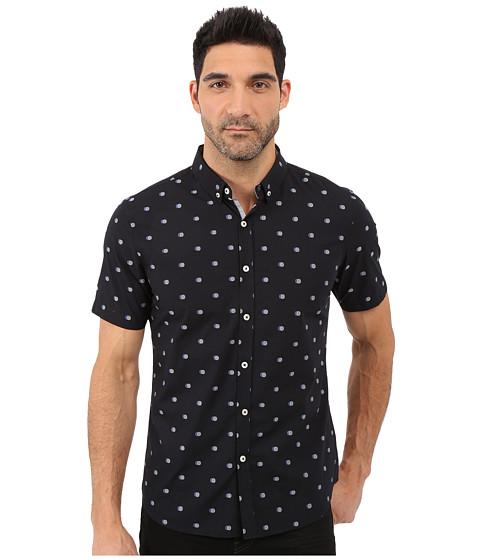 7 Diamonds Frontera Short Sleeve Shirt - Navy