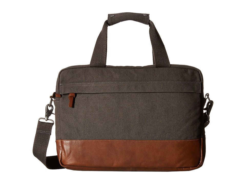 Alternative - Slim Computer Brief (Charcoal) Computer Bags