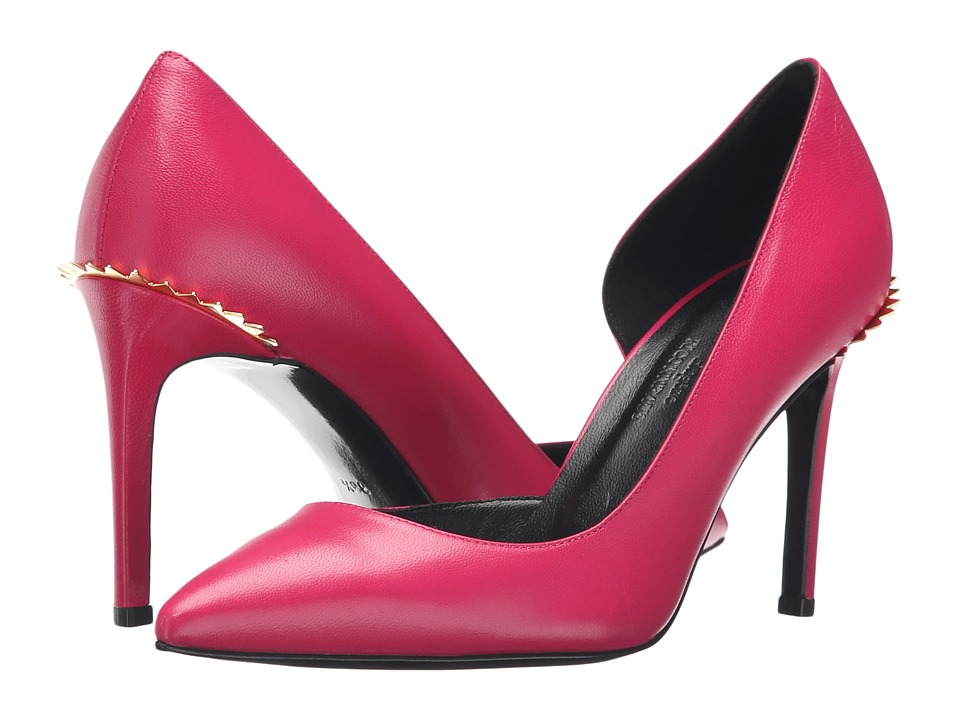 Eugene Riconneaus 85mm Crown Pump (Fuchsia Suede) Women