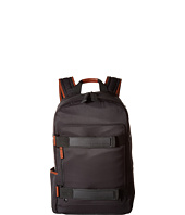 Calvin Klein - Nylon Backpack with Leather and Rubber Detail