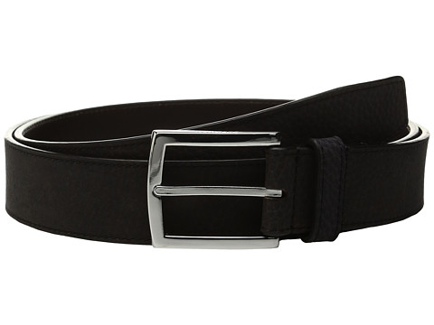 Cole Haan 35mm Belt with Stitched Contrast Color Edge and Lining Detail