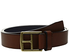 Cole Haan 32mm Rounded Edge Belt with Contrast Color Lining and Edge Detail