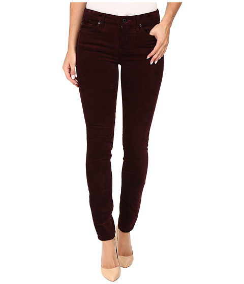 7 For All Mankind The Skinny Cord in Merlot