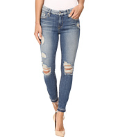 7 For All Mankind - The Ankle Skinny w/ Released Hem & Destroy in Windsor Pink Tint
