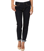 7 For All Mankind - Fashion Boyfriend w/ Wide Raw Cuff in Fashion Rinsed Denim