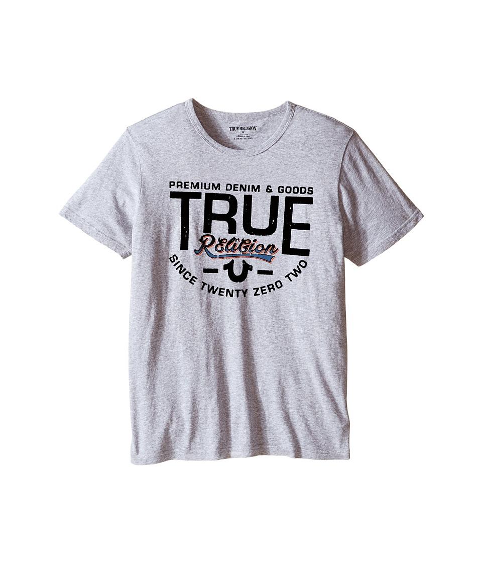 True Religion Kids - Denim Goods T-Shirt (Big Kids) (Heather Grey) Boy