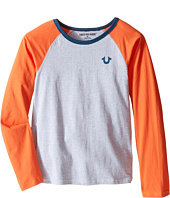 True Religion Kids - Color Block Raglan T-Shirt (Big Kids)