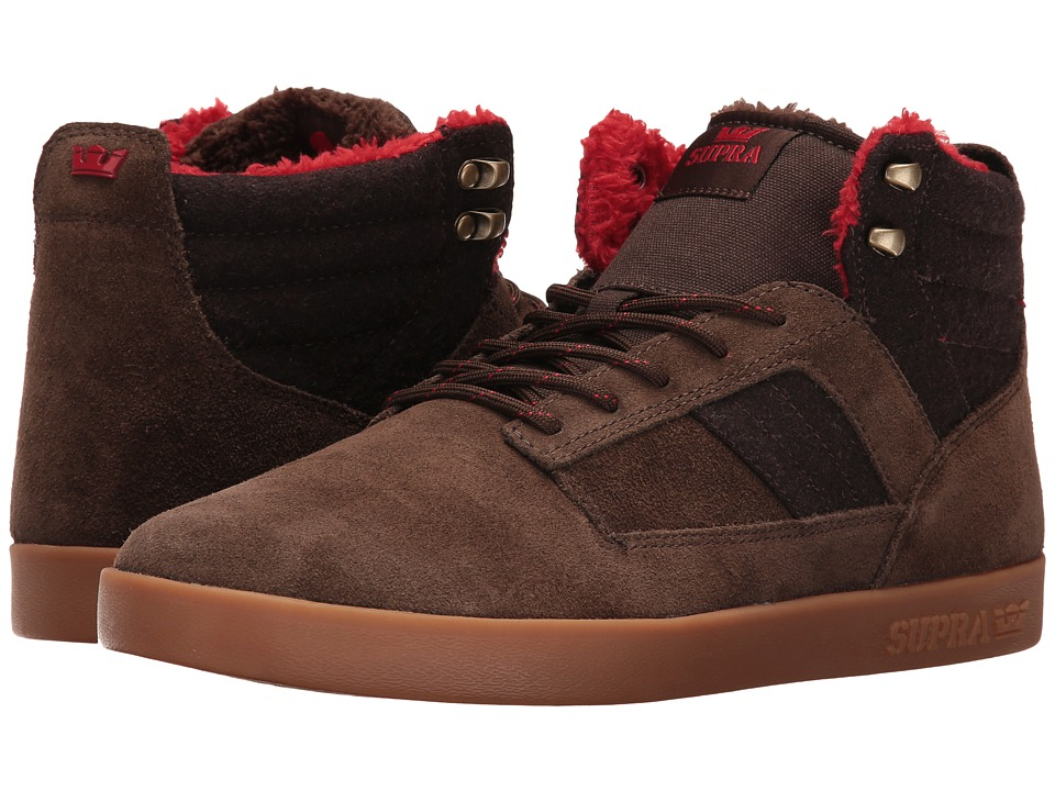 Supra - Bandit (Brown Suede/Gum) Mens Skate Shoes
