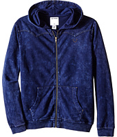 True Religion Kids - French Terry Western Hoodie (Big Kids)
