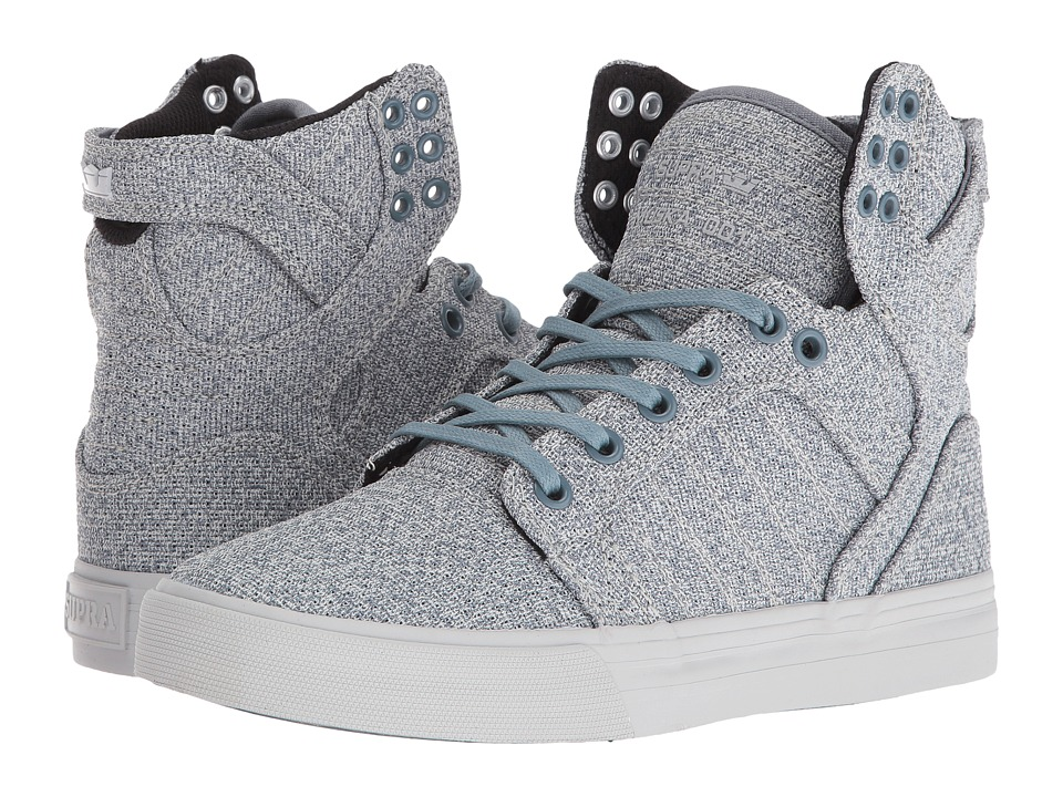 Supra Skytop (Slate Blue/Light Grey) Women