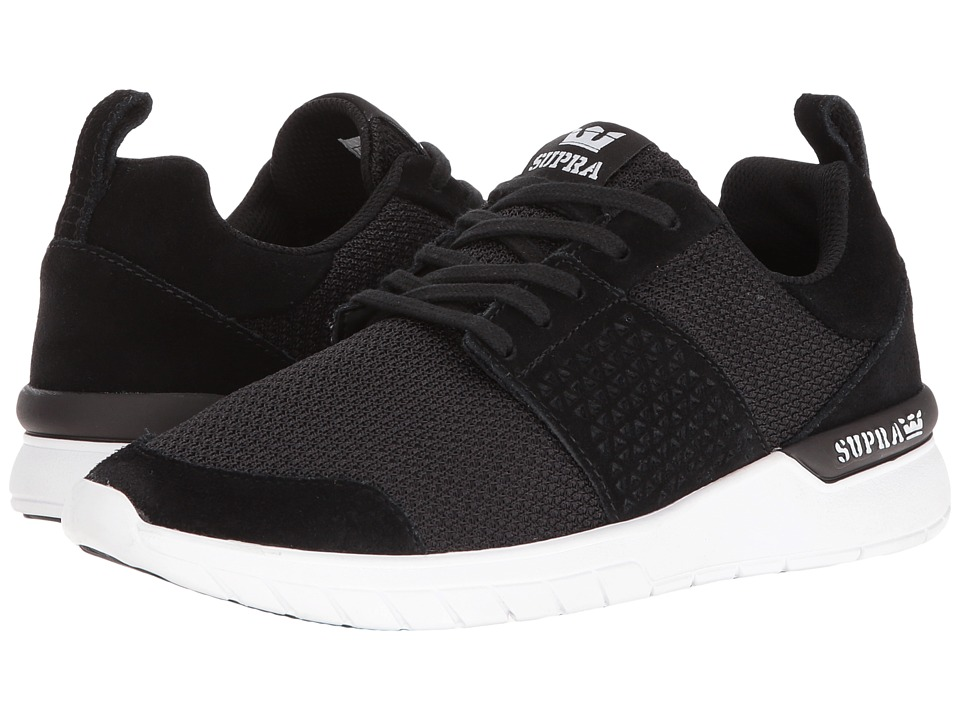 Supra Scissor (Black Suede/White) Women