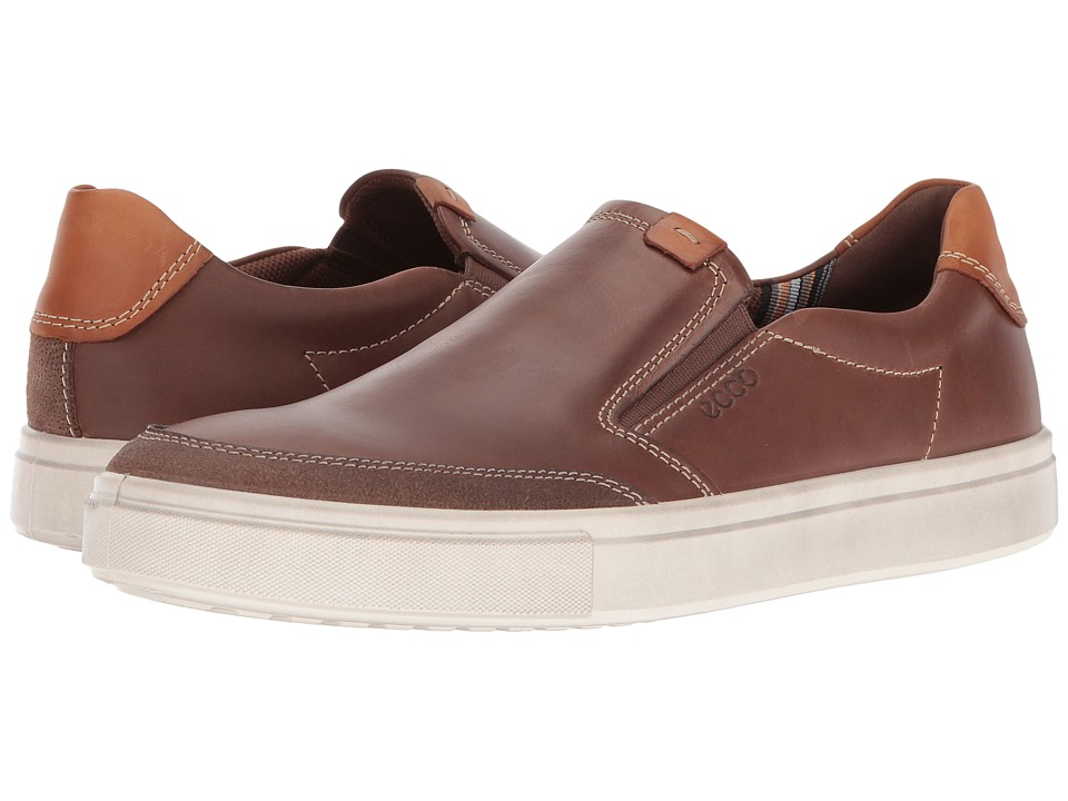 ECCO Kyle Slip-On (Cocoa Brown/Cocoa Brown) Men
