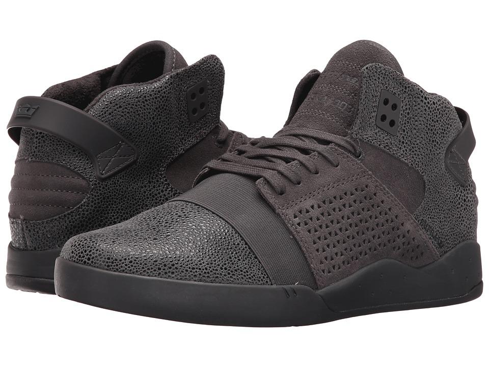 Supra - Skytop III (Dark Grey Harmonic/Dark Grey) Mens Skate Shoes