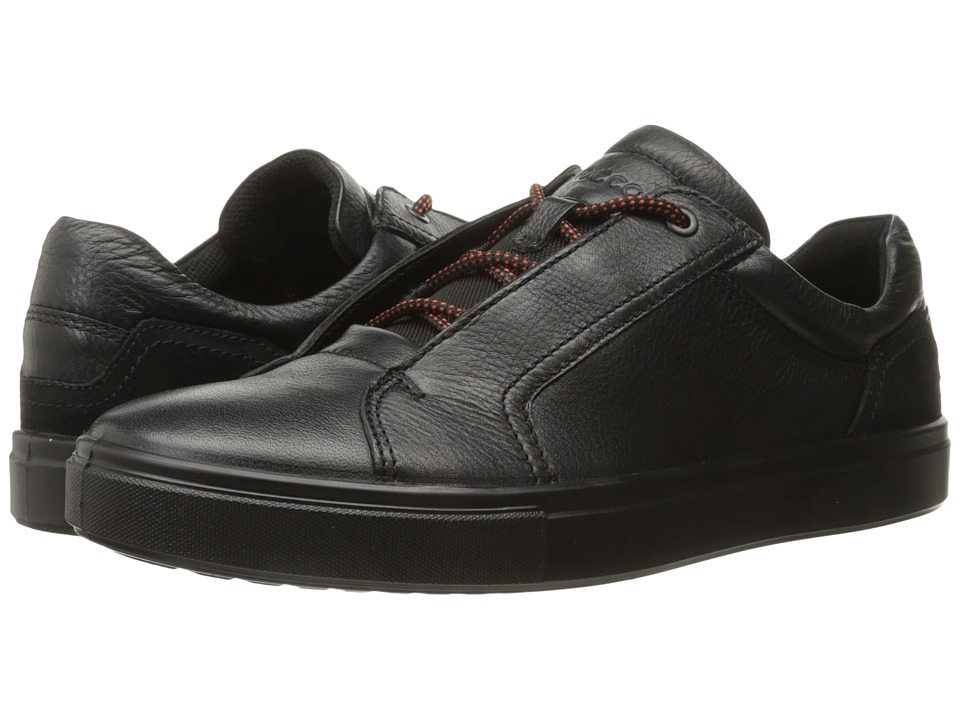 ECCO Kyle Street Sneaker (Black/Black) Men
