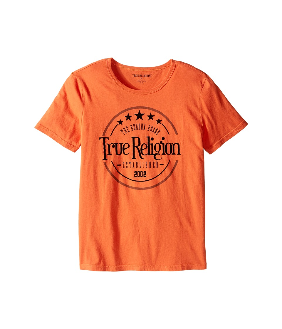 True Religion Kids - True Los Angeles T-Shirt (Big Kids) (Burnt Orange) Boy