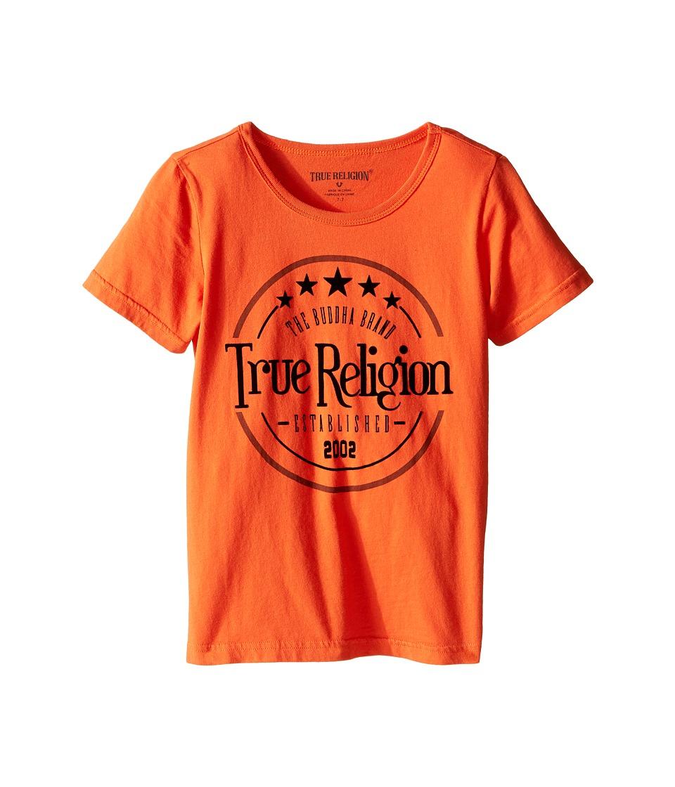 True Religion Kids - True Los Angeles T-Shirt (Toddler/Little Kids) (Burnt Orange) Boy