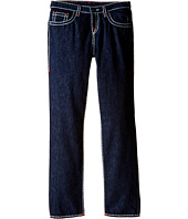 True Religion Kids - Geno Contrast Super T Jeans in Rinse (Big Kids)