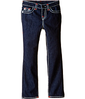 True Religion Kids - Geno Contrast Super T Jeans in Rinse (Toddler/Little Kids)