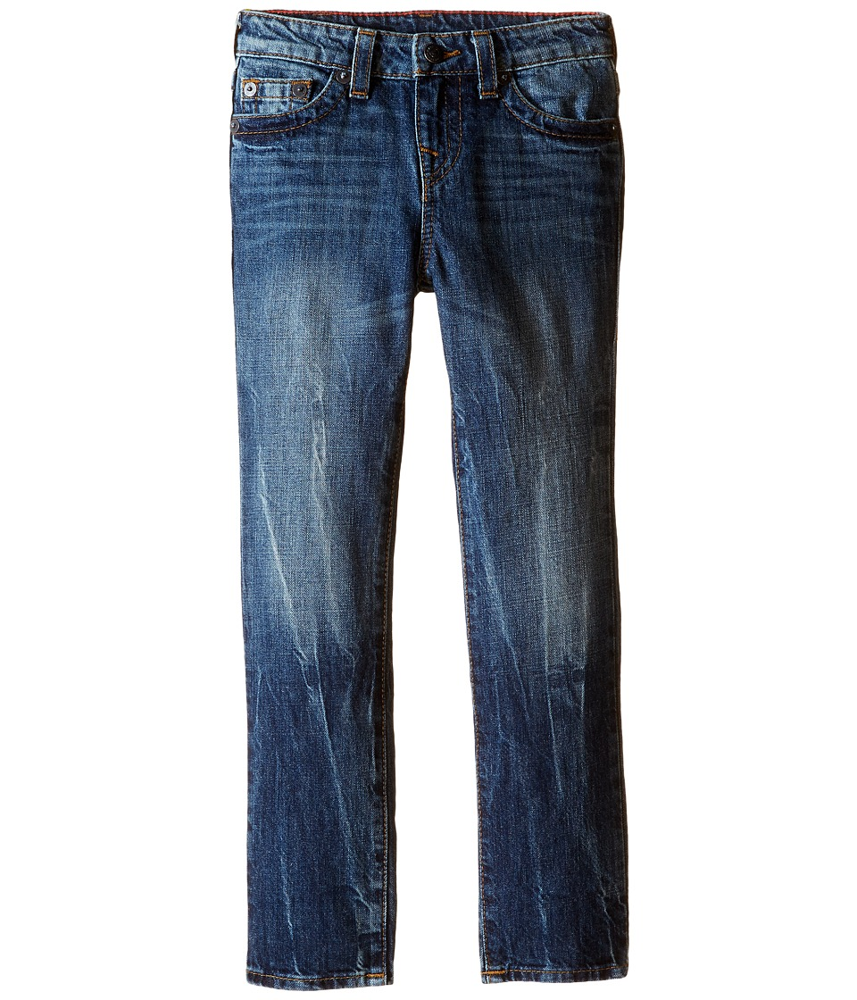 True Religion Kids - Fashion Geno Single End Jeans in Blue Book