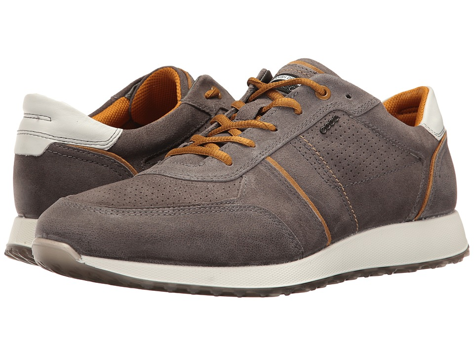 ECCO Summer Sneak (Warm Grey/Dried Tobacco) Men