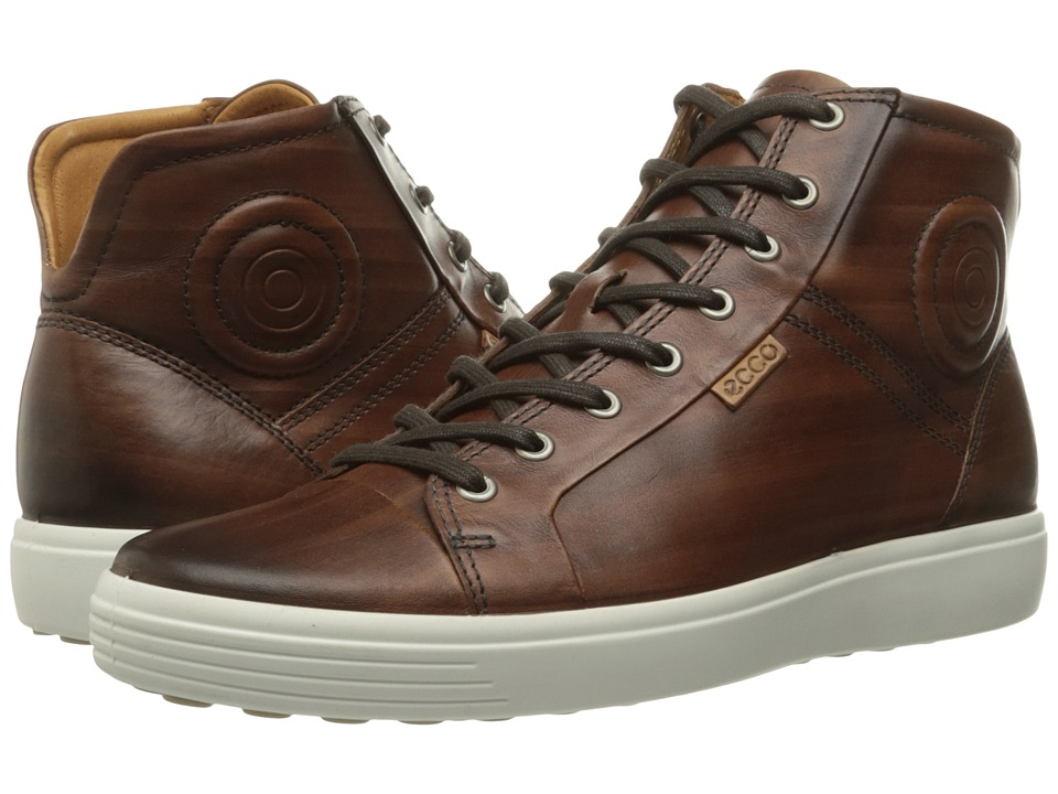 ECCO Soft 7 Premium Boot (Whisky) Men