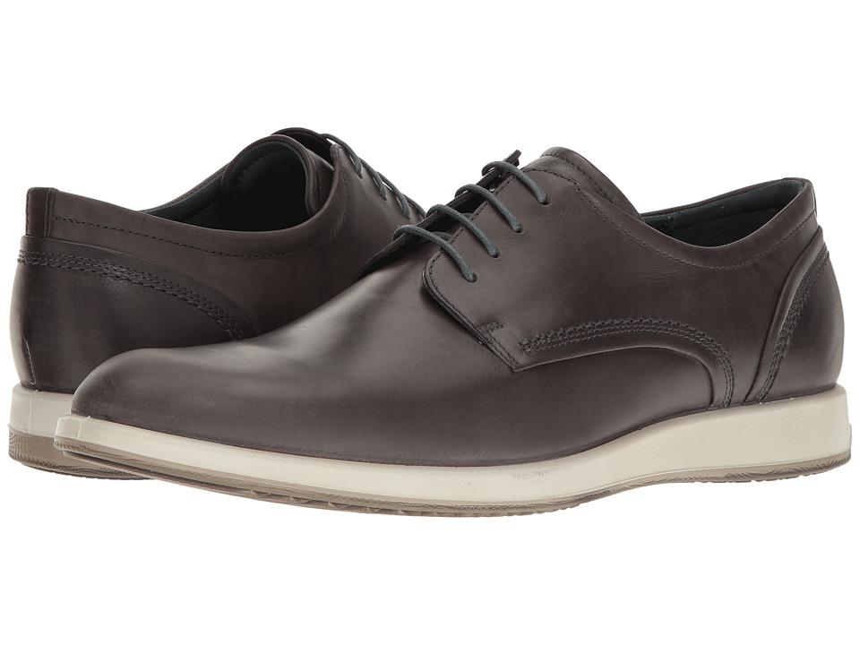 Ecco Jared Tie (Moonless) Men's  Shoes