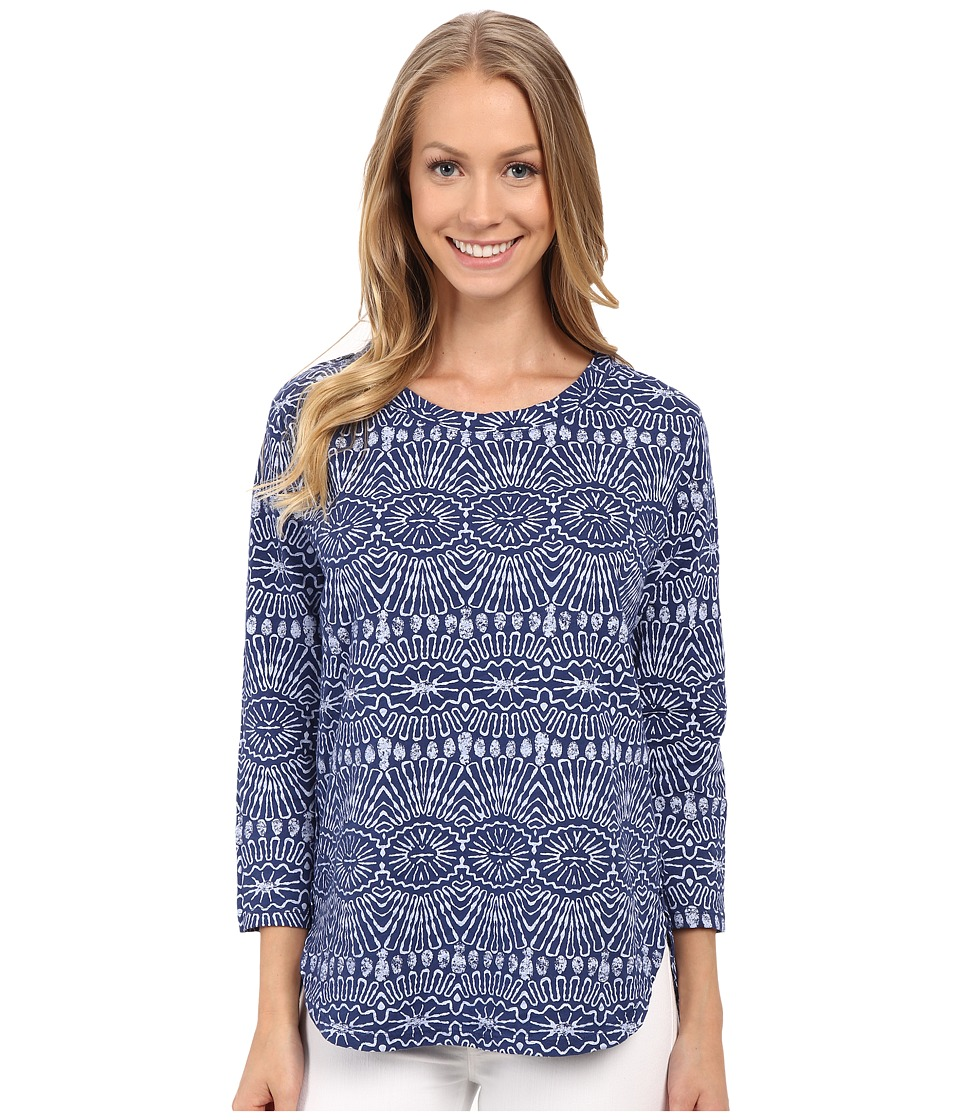 Fresh Produce Tribal Catalina Top Moonlight Blue Womens Clothing