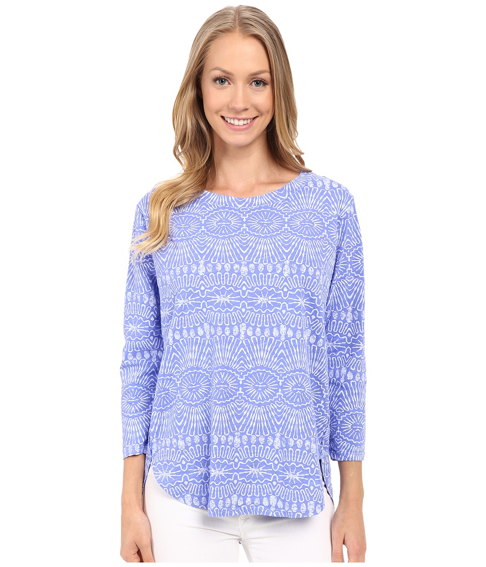 Fresh Produce Tribal Catalina Top Periwinkle Blue Womens Clothing