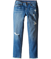 "True Religion Kids - Audrey Destructed ""Boyfriend"" Jeans in Breeze Blue (Big Kids)"