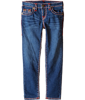 True Religion Kids - Casey Color Combo Super T Jeans in Medium Ink (Toddler/Little Kids)