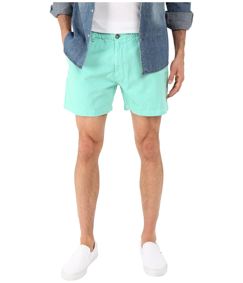 Vintage 1946 Garment Dyed Pull On Shorts Aqua Mens Shorts