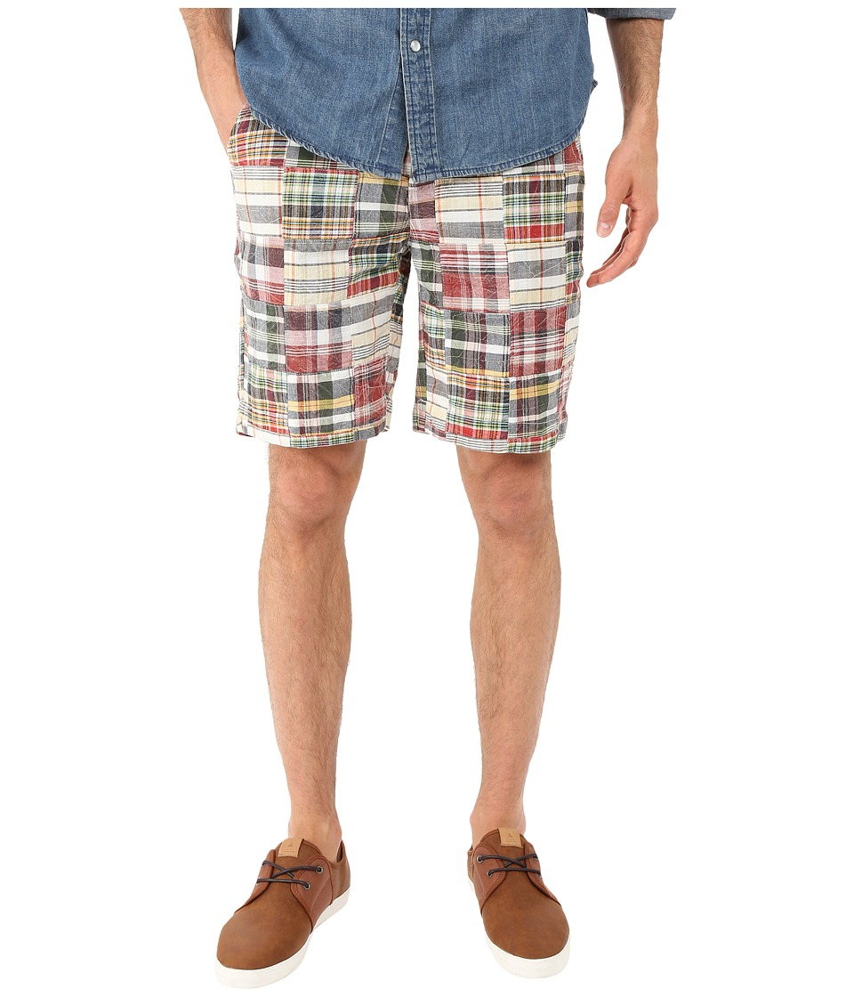 Vintage 1946 Vintage Patch Madras Shorts Charleston Brick Mens Shorts