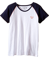 True Religion Kids - Branded Logo Tee Shirt (Little Kids/Big Kids)