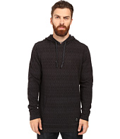 VISSLA - Sharkard Pullover Hoodie Jacquarded Stripe Pullover Hooded Henley