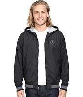 VISSLA - Daymer Hooded Zipper Front Jersey Lined Jacket 600 Durable Water Coating