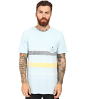 VISSLA - Kookabunga Short Sleeve Heathered 30 Singles Pocket Crew